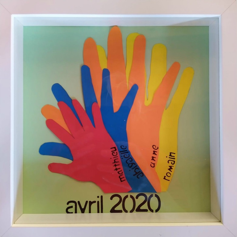 family handprint art ideas