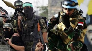 Saat Tentara Hizbullah Segan dengar Nama Kopassus yang Lindungi Tentara Spanyol!