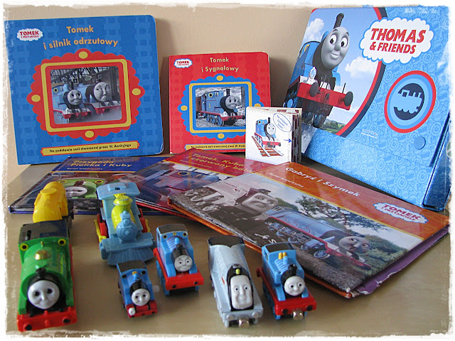 zabawki Tomek i Przyjaciele