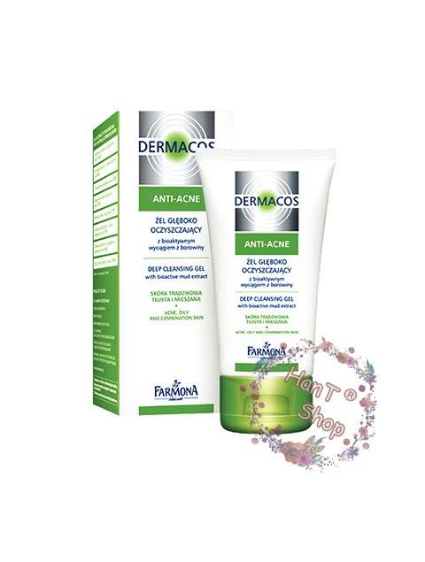 Sữa rửa mặt Dermacos cho da dầu da mụn