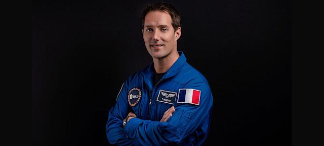El astronauta francés Thomas Pesquet.© ESA/Nicole Fischer