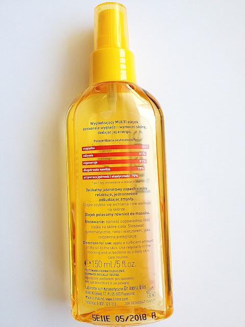 Lirene Vital Code - wygładzający multi olejek