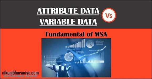 Attribute Vs Variable data