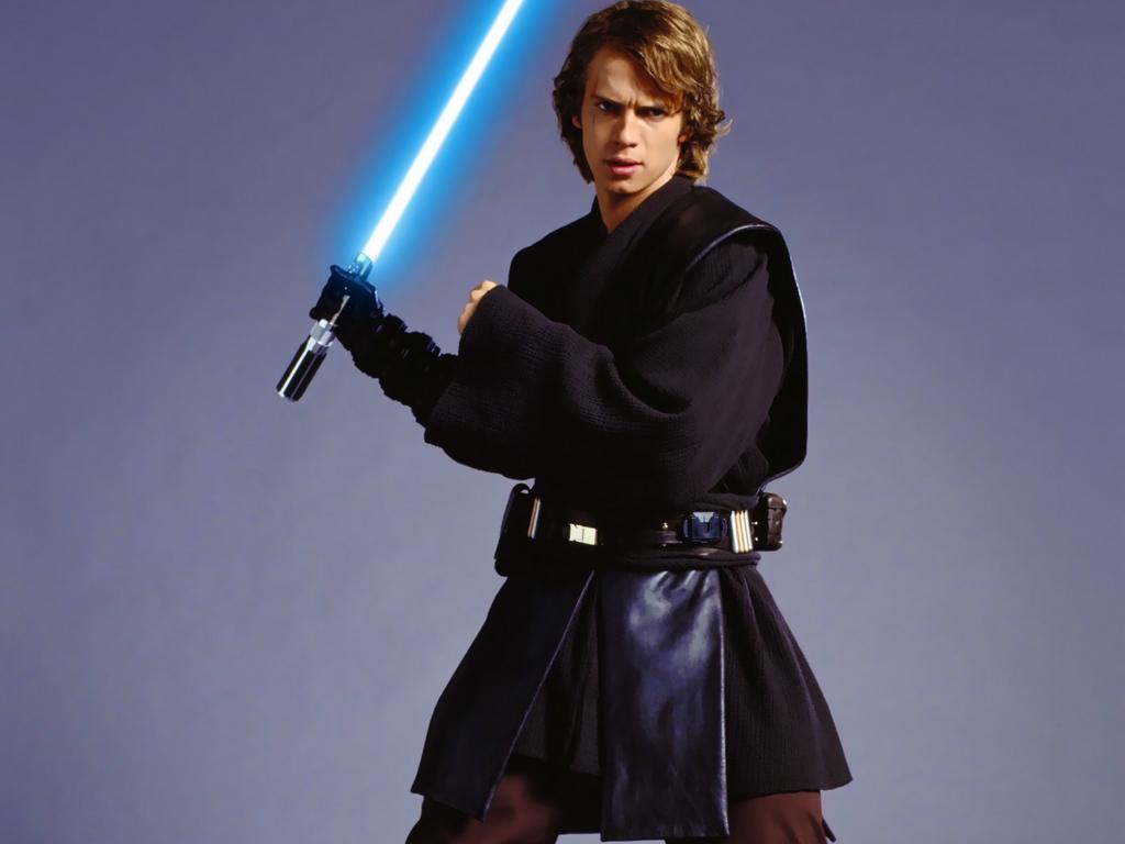 Luke skywalker as a jedi in the star wars movies