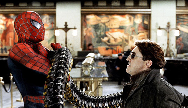 Spider-man 2, directed by Sam Raimi