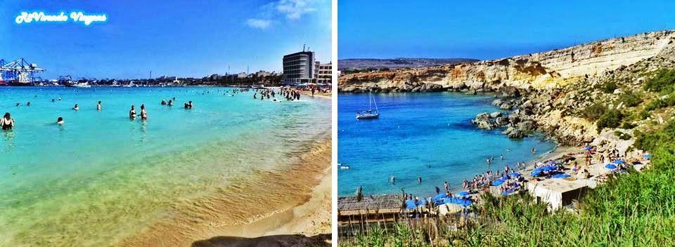 Praias de Malta