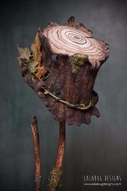 czapki z welny filcowanej