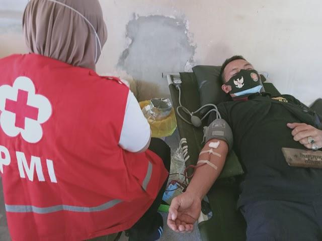 Donor Darah Satkorcab Banser 02-XXI Kab. Buleleng