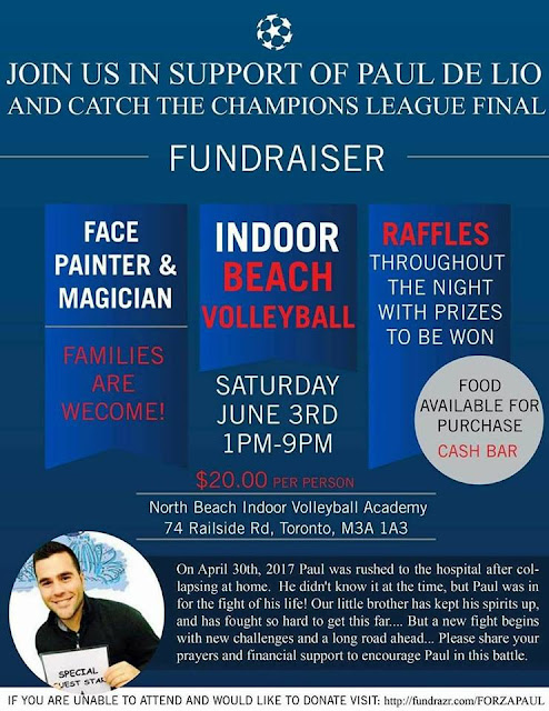 Fundraiser in Support of Paul De Lio