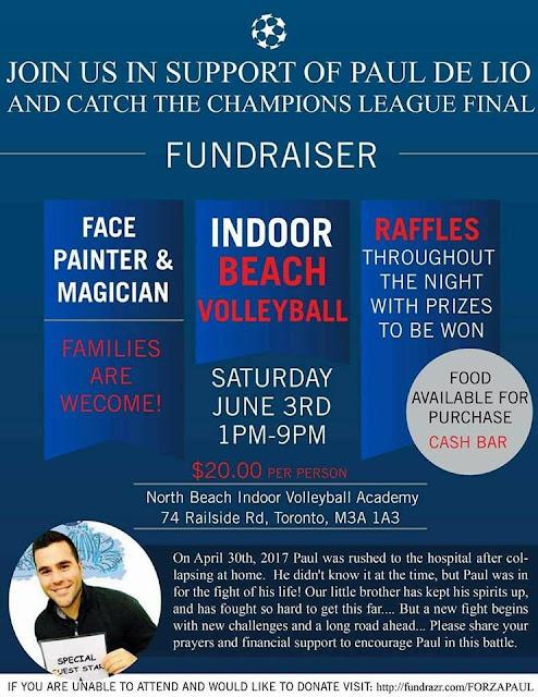 Fundraiser in Support of Paul De Lio