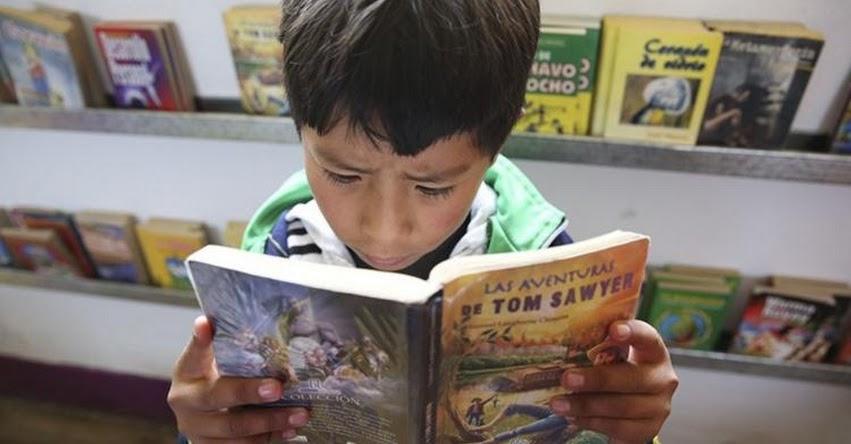 Plan Lector Nacional aumentó la lectura juvenil e infantil