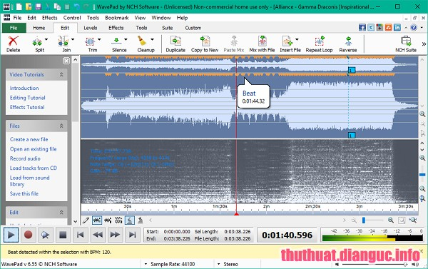 Download NCH WavePad Sound Editor 9.19 Full Crack