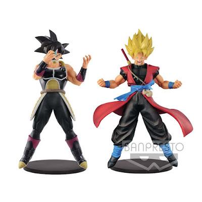 Super Dragon Ball Heroes DXF Masked Saiyan y Son Goku: Xeno
