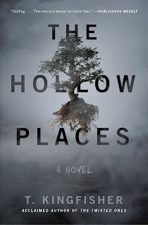 cover of The Hollow Places showing a floating tree
