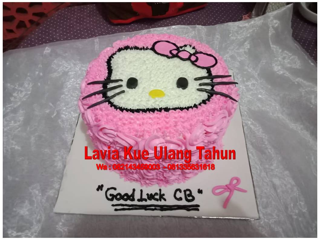 Hello Kitty Cake Ultah