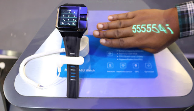 Haier Asu Smartwatch with projector