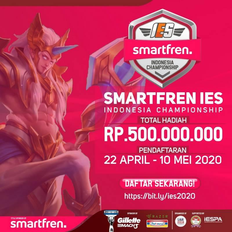 Kejuaraan eSports Smartfren Indonesia Championship IES