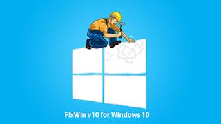 اصلاح وحل جميع مشاكل ويندوز10 FixWin