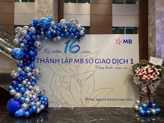 Dịch vụ trang trí sự kiện tại Hà Nội