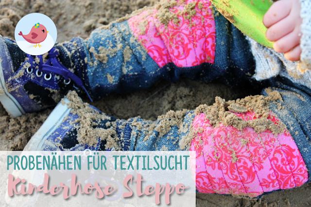 Probenähergebnis von naehklimbim - Steppo von Textilsucht