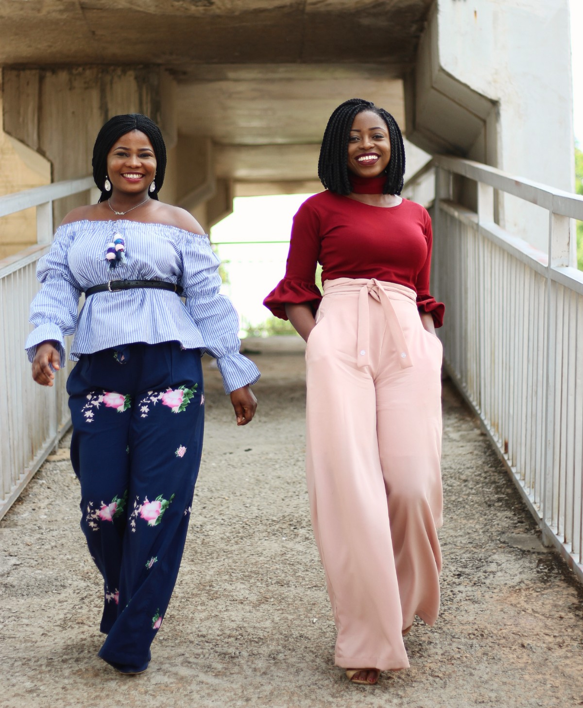 5ac5678ef711bc How to Style Palazzo Trousers  Simple Tips with Debs - Princess Audu