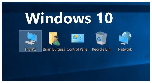 كيفية اظهار ايقونات سطح المكتب بعد اختفائها فى ويندوز Windows 10