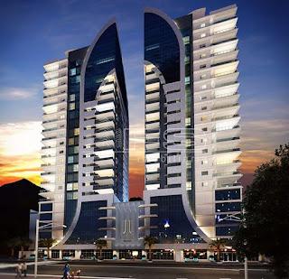 ENC: V103 - INFINITY PARADISE RESIDENCE - Apartamento 3 e 4 suítes - Meia Praia - Itapema/SC