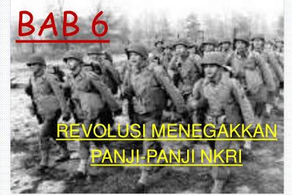 Jawaban Latih Uji Semester Bab 6 SI Kelas XI Halaman 195 (Revolusi Panji NKRI)