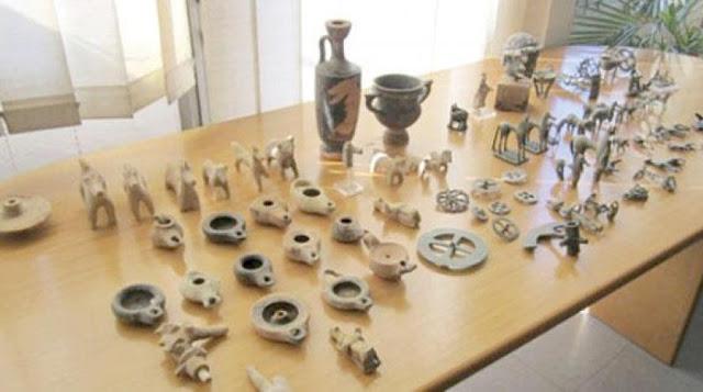 المهدية : حجز قطع أثرية لدى إمرأة من أصول إيرانية