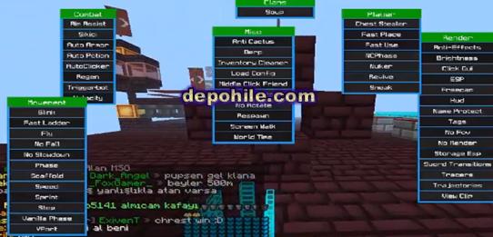 Minecraft TeamAsk v2 Hack Client Güçlendirilmiş Aura Hilesi 2019