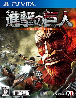 Attack on Titan AOT Wings of Freedom (PS Vita) [NoNpDrm] [USA/EUR