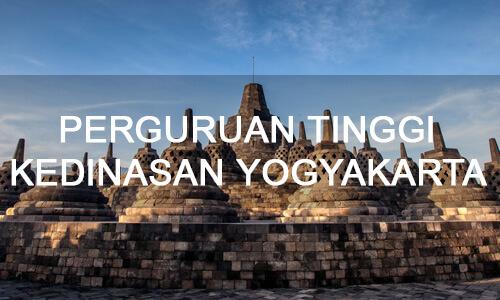 universitas, sekolah tinggi, perguruan tinggi, Yogyakarta, Jogyakarta Kedinasan, Kementerian, Ikatan Dinas,