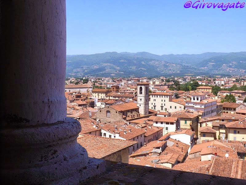 pistoia panorama panorama torre cattedrale