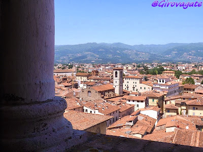 pistoia panorama panorama torre cattedrale