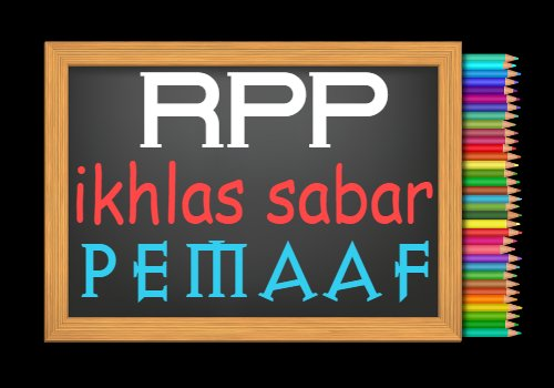 RPP PAI Kelas 7 Semester 2 Tahun 2020/2021, Materi Ikhlas, Sabar, dan Pemaaf