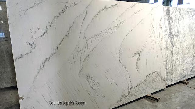 Calacatta Quartzite Slabs for Countertops NYC
