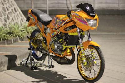 Modifikasi Motor Ninja R AirBrush
