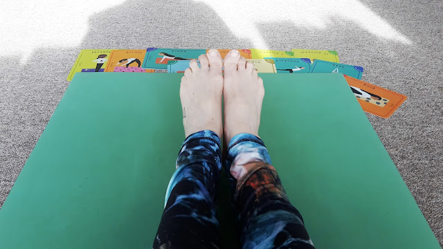 Project 365 2017 day 65  - Home ed yoga // 76sunflowers