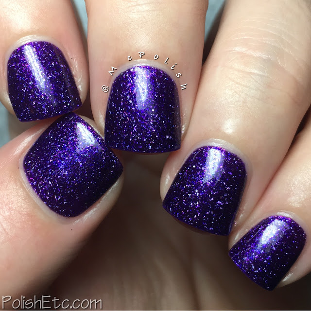 Pahlish - Holo-ween III - McPolish - Black Cat, Pointed Hat