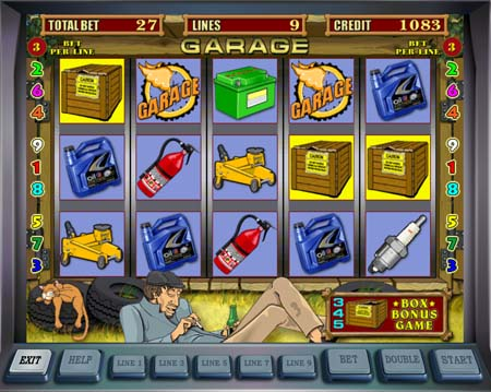 Joaca acum jocul Garage online - Jocuri ca la pacanele