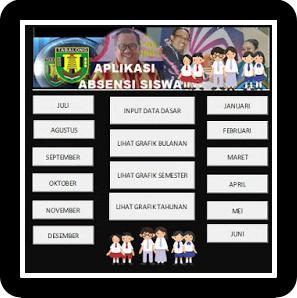Aplikasi Absensi Siswa SD,SMP,SMA Terbaru Dan Otomatis