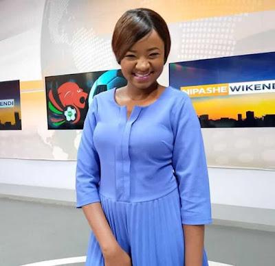 Citizen TV reporter Kadzo Gunga. PHOTO | KADZO GUNGA