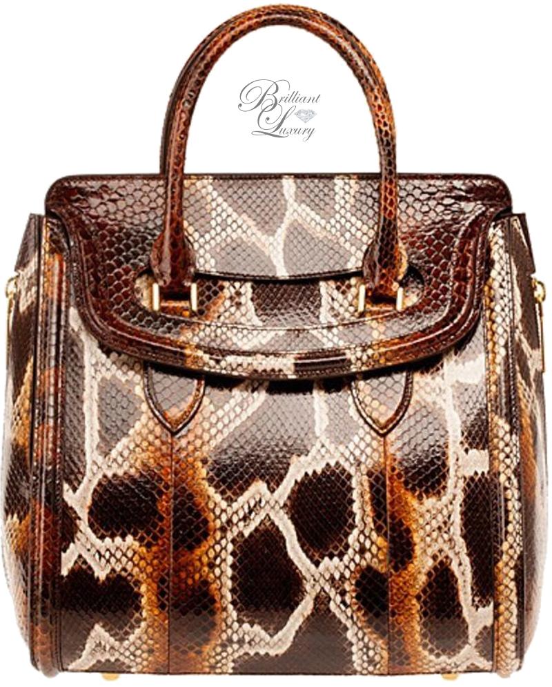 Brilliant Luxury ♦ Alexander McQueen 'Heroine' Tote