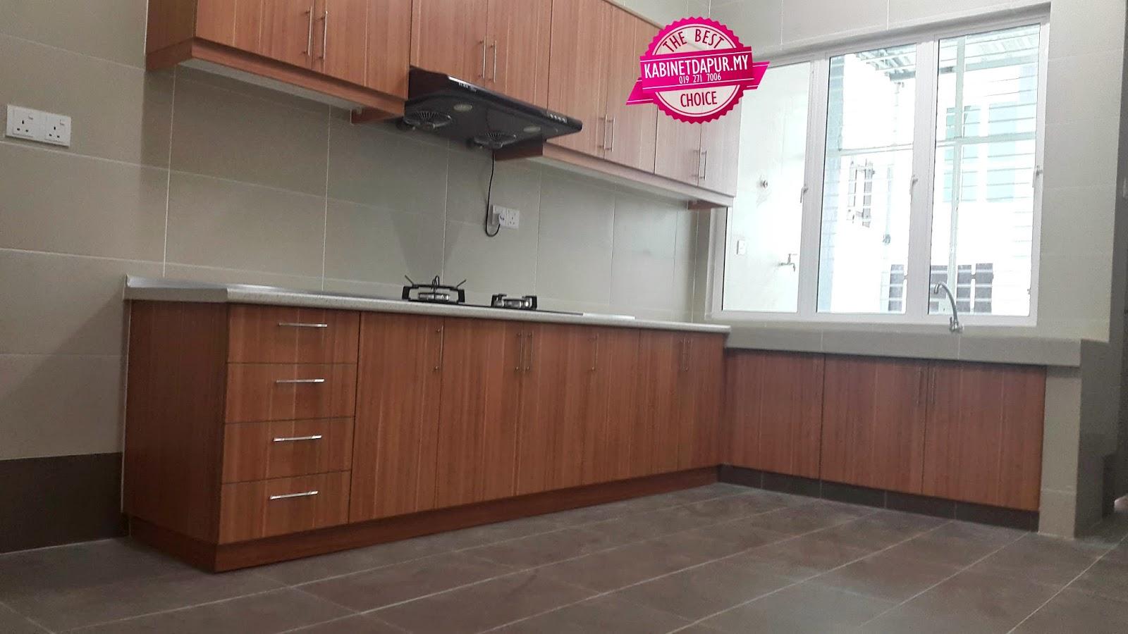 Simple Dan Kemas Tuan Rumah Pun Cakap Dengan Saya Geram Tengok Kabinet Dapur Di Ini