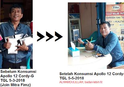 Jual Produk Kesehatan Apollo 12 Cordy-G di Jombatan Jombang Jombang Hub 081315203378