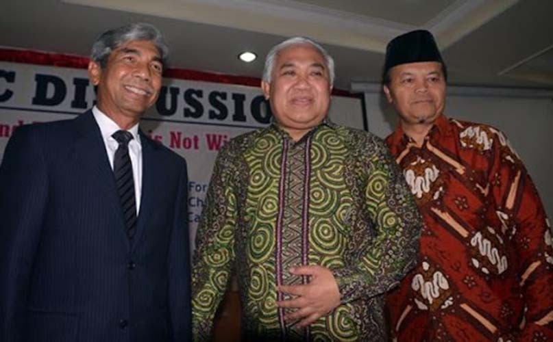 Din Syamsuddin dan Hidayat Nur Wahid