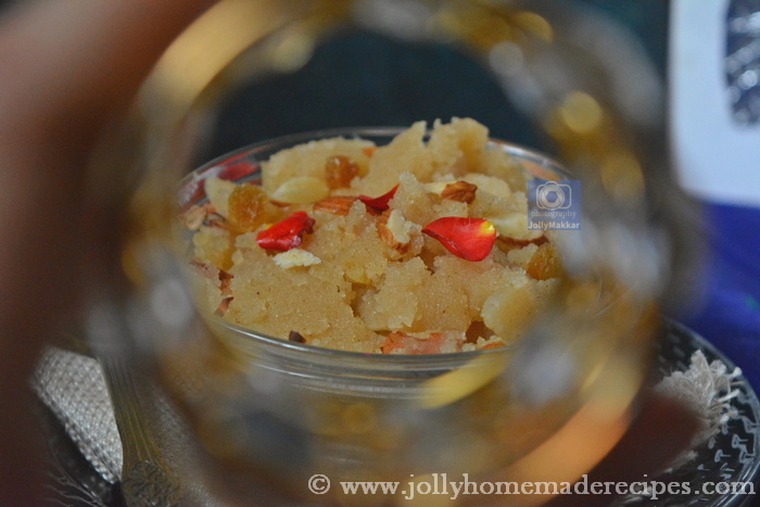 How to make Sooji ka Halwa - Ashtami Prasad
