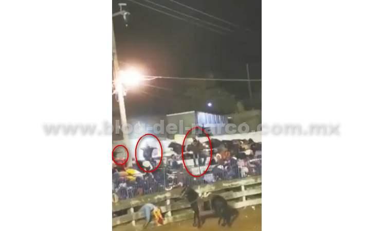 Así irrumpieron Sicarios una corrida de Toros que se celebraba en Iguala, atacaron a los asistentes y una persona murió
