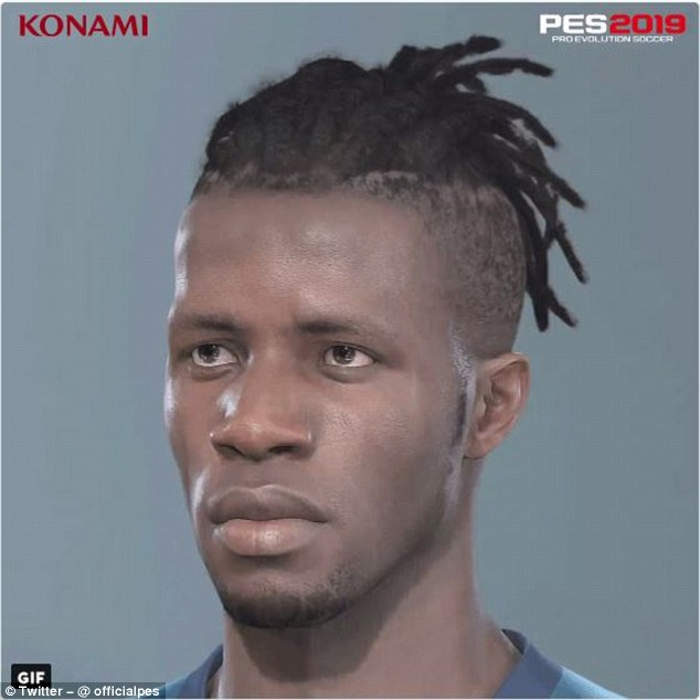 Wilfried Zaha Face PES 2019