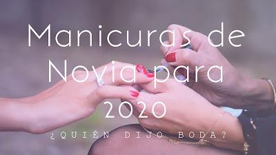 Manicuras de novia para 2020